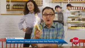 Take part in a free virtual cooking class this Family Day (04:55)