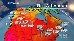 Winnipeg weather outlook: July 12 (01:37)