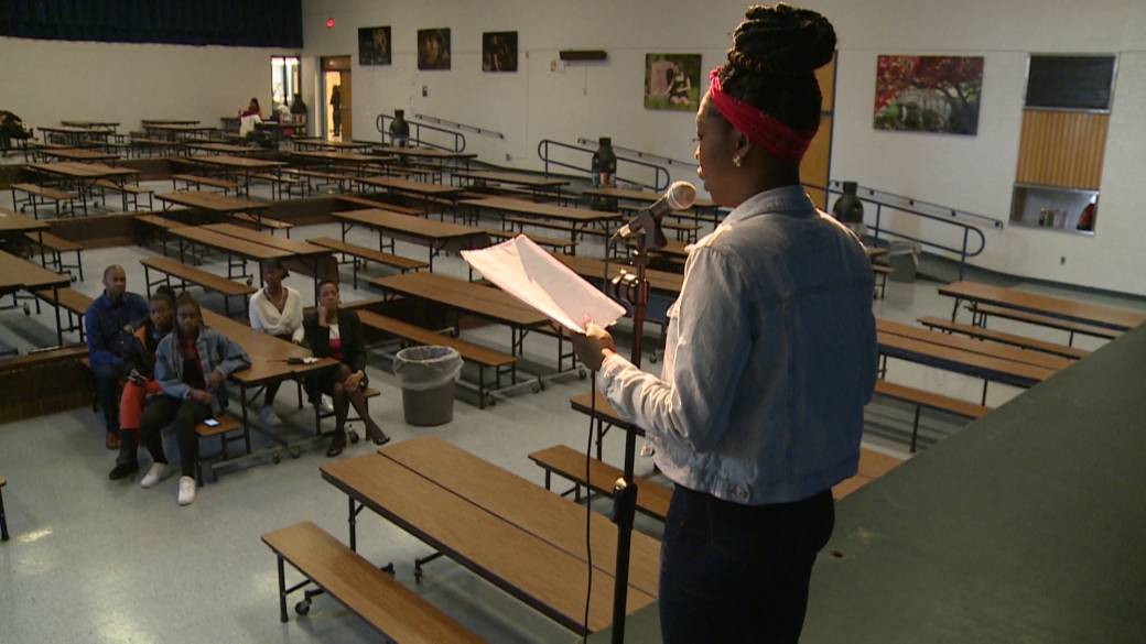 Ajax students use poetry to connect with Black history