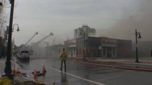 Fire destroys downtown Mission business, including game shop producing COVID-19 face shields