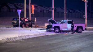 1 man killed in Métis Trail and Country Hills Boulevard crash