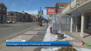 Coronavirus: Peel Region wants to skip grey lockdown zone following latest provincial orders (02:14)