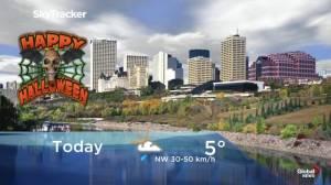 Edmonton early morning weather forecast: Thursday, October 31, 2019