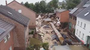 Hundreds still missing after record rainfall, flooding in western Europe (01:43)