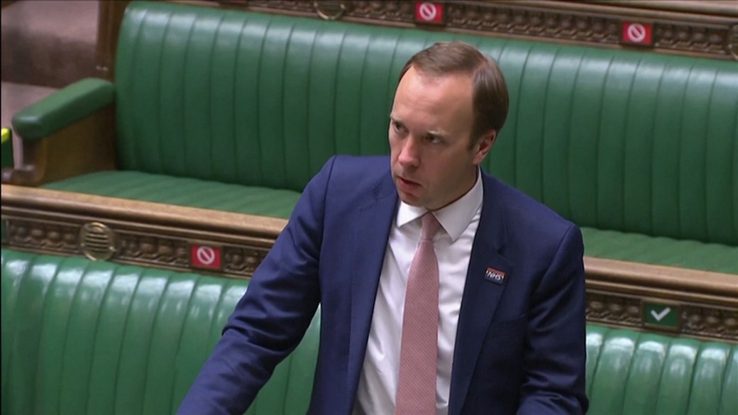 Click to play video: 'U.K.'s full reopening plan could be jeopardized by B.1.617.2 COVID-19 variant, health minister says'