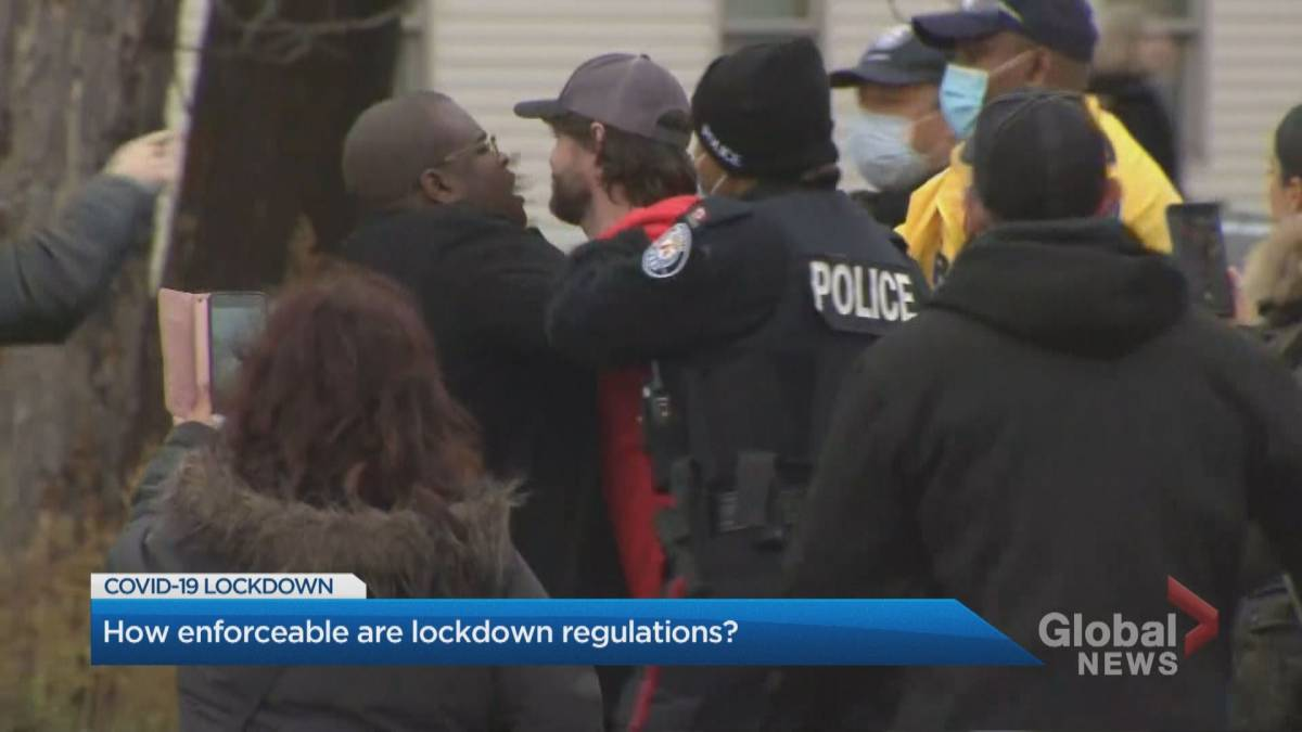 Click to play video 'Adamson BBQ owner defies lockdown measures – what happens next?'