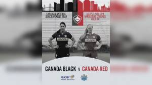 Rugby Canada Women's National team in town for camp and exhibition game (05:46)
