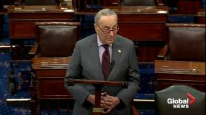 Schumer says articles of impeachment for former president Trump to be sent to Senate on Monday (03:24)
