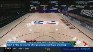 NHL, NBA set to return playing after boycott over Jacob Blake shooting