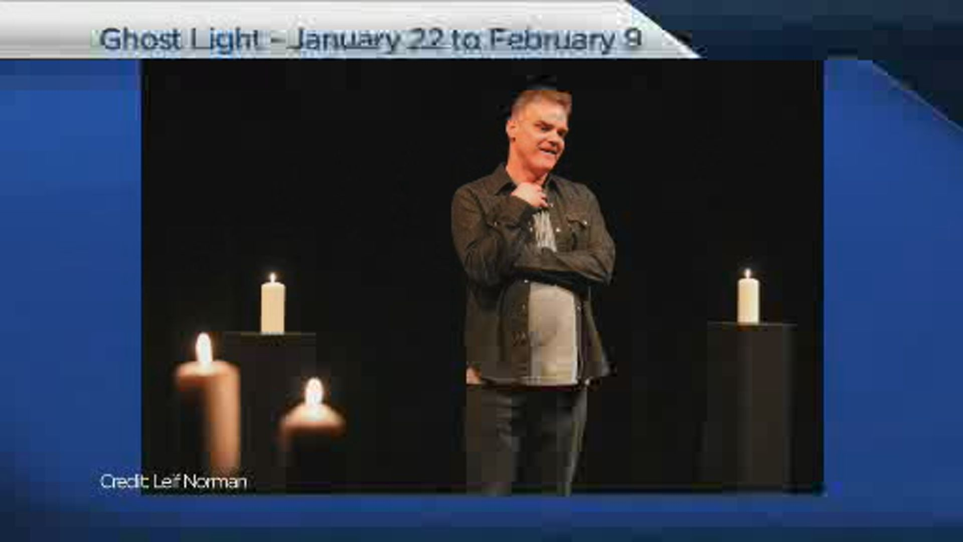 Ghost Light runs Jan 22 to Feb 9 at Prairie Theatre Exchange