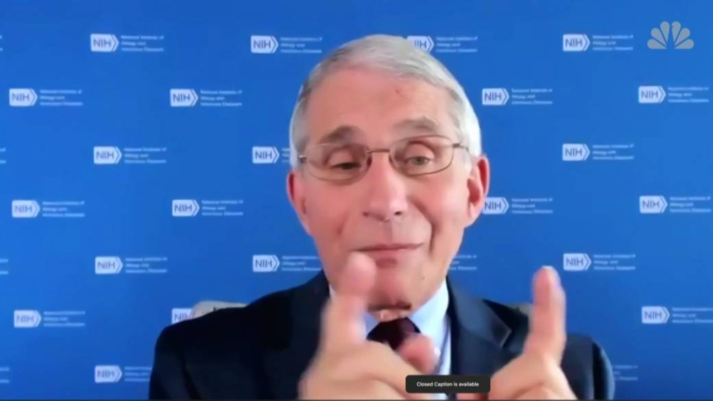 Click to play video 'Coronavirus, Dr. Anthony Fauci draws sharp distinction between COVID-19 and flu, contradicting Trump'