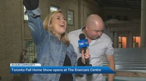 Toronto Fall Home Show opens at the Enercare Centre