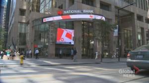 Many Canadian banks hiking customer fees while seeing major profits (01:17)