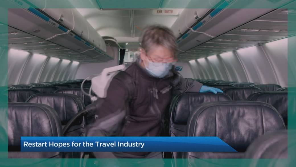 Click to play video: 'The Travel Lady: COVID-19 vaccines a ray of hope for travel industry'