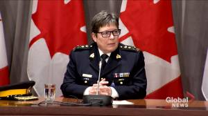 'Our hearts are broken. My heart is broken' says RCMP Commissioner over Nova Scotia shooting (06:03)