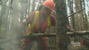 Saskatchewan wildfire crews focus on flood fight and coronavirus during quiet fire season