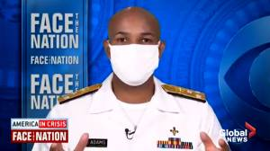 Coronavirus: U.S. Surgeon Gen. Adams now recommends wearing face masks after previously advising inefficacy