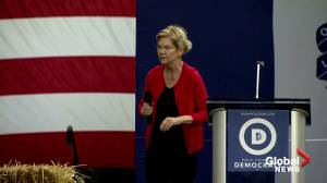 U.S. Senator Elizabeth Warren calls for Trump impeachment proceedings