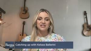 Country pop star Kelsea Ballerini on her latest albums