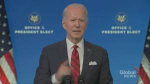 Coronavirus: Biden unveils 'bold' 5-part plan to ramp-up vaccinations in the U.S. (00:40)