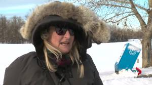 Extreme cold weather doesn't stop some from venturing outside in Edmonton