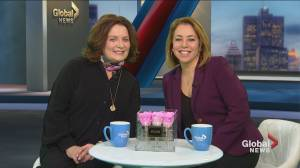 WE Day brings Margaret Trudeau to town
