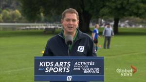 Federal Election 2019: Scheer promises tax credit for children's fitness, arts, tutoring