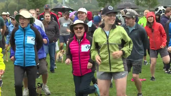 Kelowna takes part in 39th Terry Fox Run in pouring rain