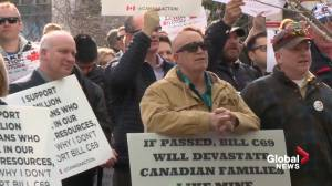 Alberta and Ottawa back in court over Bill C-69 (01:43)