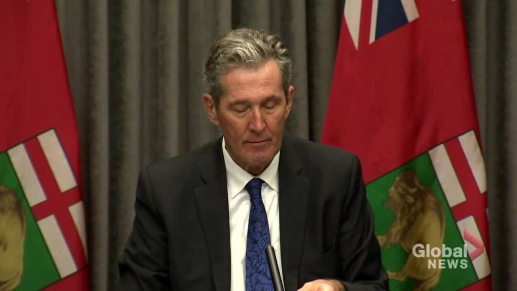Click to play video 'Coronavirus: Manitoba Premier Pallister says approval ratings are low because 'people don't like COVID''