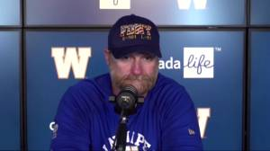 RAW: Blue Bombers Mike O'Shea Post Game – Sept. 11 (05:44)