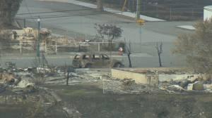 New ground-level look at Lytton devastation after  wildfire (02:27)