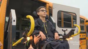 Caledon student with disability wants his old school bus service back