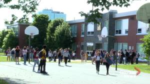 Halifax-area high school students optimistic about new school year during pandemic (01:56)
