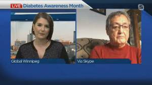November is Diabetes Awareness Month in Manitoba (04:31)