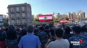 Hezbollah and Amal supporters attack protesters in Beirut