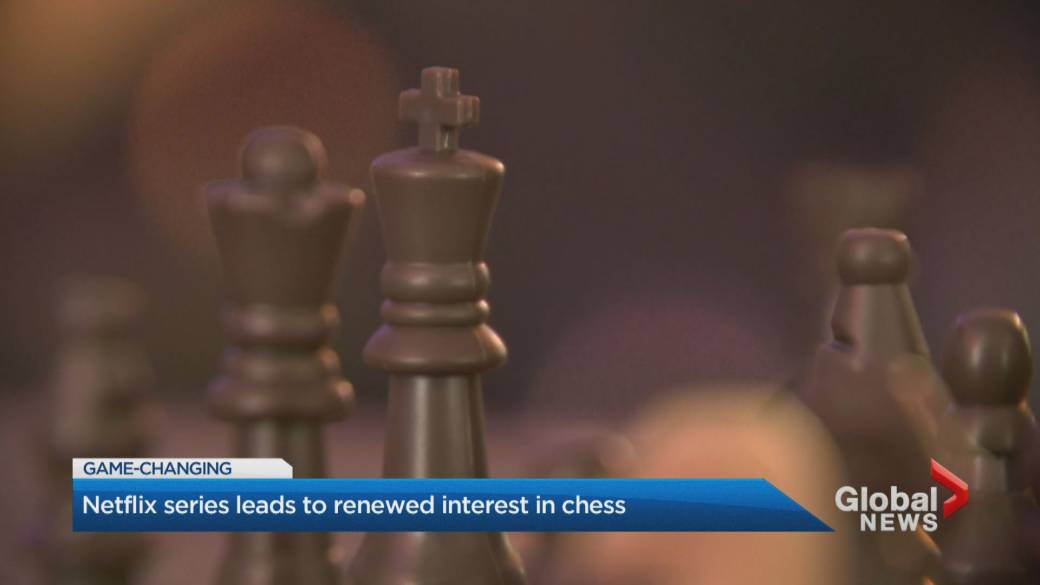 Click to play video 'Chess popularity swells on Netflix series'