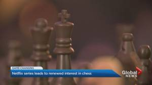 Chess popularity swells on Netflix series (01:37)