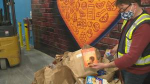 IGA makes changes after sub-par food bank donation bags (01:55)