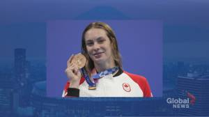 Canadian swimmer Penny Oleksiak on the road to making history (01:58)