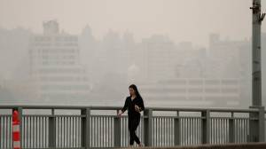 COVID-19 concerns over pathogens in wildfire smoke (01:44)