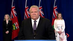 Coronavirus outbreak: Premier Ford refuses to ask for resignation of long-term care minister, praises her record instead