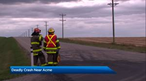 Child killed, teen injured in collision between SUV and side-by-side vehicle (01:16)