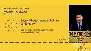 Alberta offers COVID-19 vaccine to all residents 12 & up (01:55)