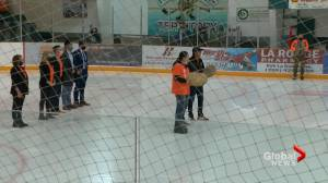 Ice Wolves cap off Truth and Reconciliation Day in La Ronge (01:48)