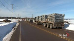 Work underway to replace the Kouchibouguac River Bridge in Grand-Barachois