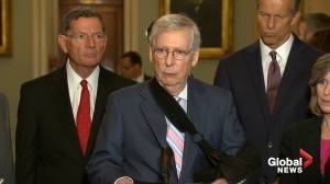 Mitch McConnell will only vote on gun background checks with support from Trump