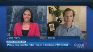 Could Ontario see a spike in COVID-19 cases after the first reopening weekend? (05:00)