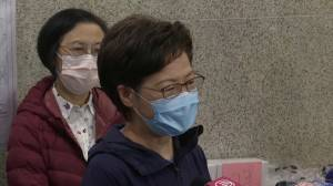 Coronavirus: Hong Kong's Carrie Lam says lockdown, compulsory testing, to 'dispel residents' worries' (01:02)