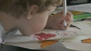 Zussman kids' create special series of election drawings (02:02)